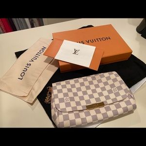 Louis Vuitton MM in Damier Azur Authentic